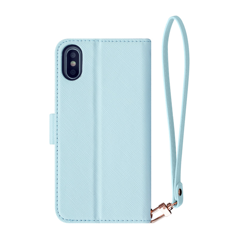 Blueberry - 2-in-1 Wristlet Folio- Habitu Co.