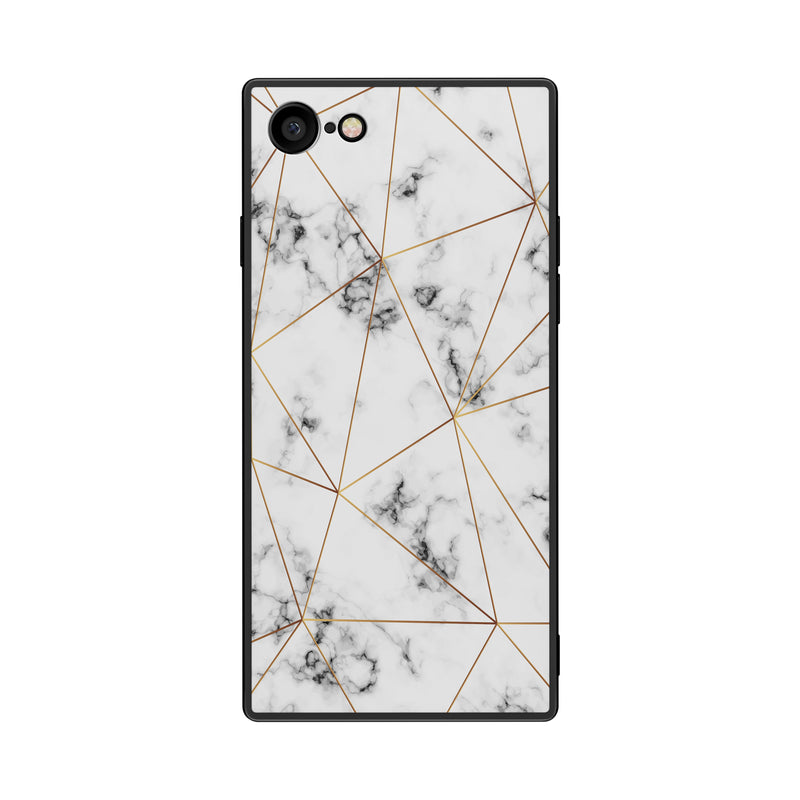 White Ziarat - Tempered Glass Case- Habitu Co.