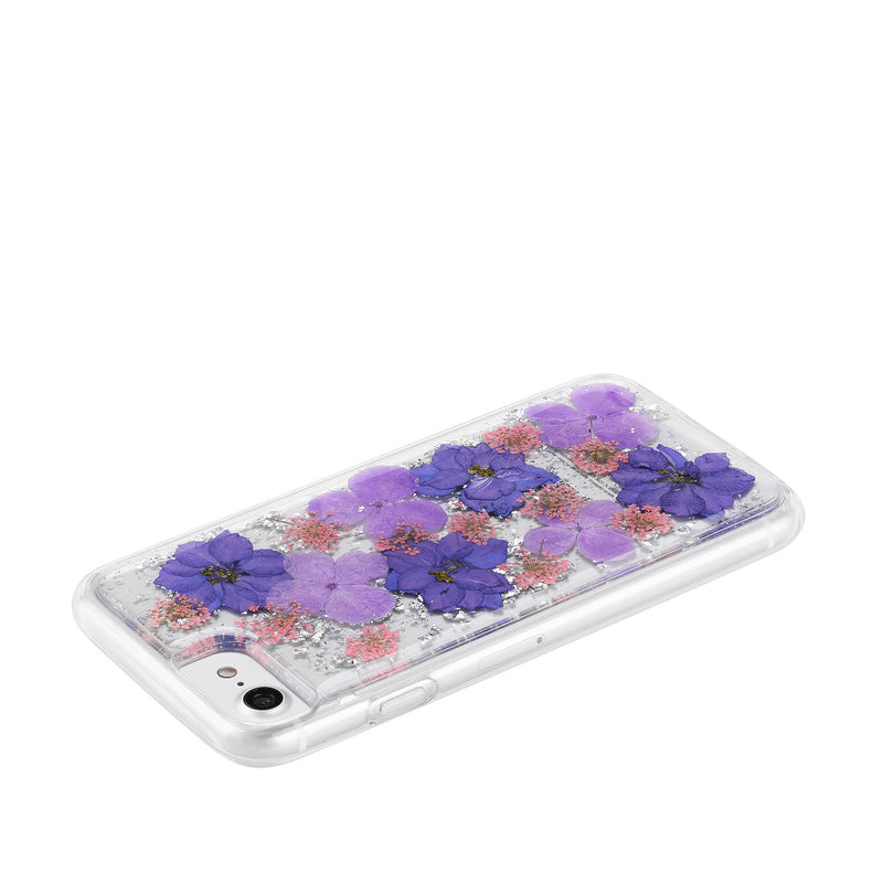 Violet Petals - Hybrid Phone Case- Habitu Co.