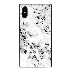 White Granite - Tempered Glass Case- Habitu Co.