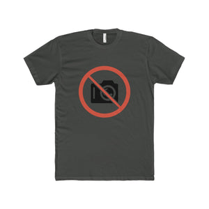 NO CAMERA Crew Neck T-Shirt