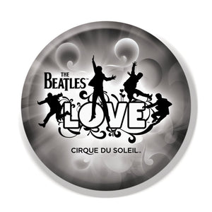 The Beatles Love Cirque - Mens Black Button Set