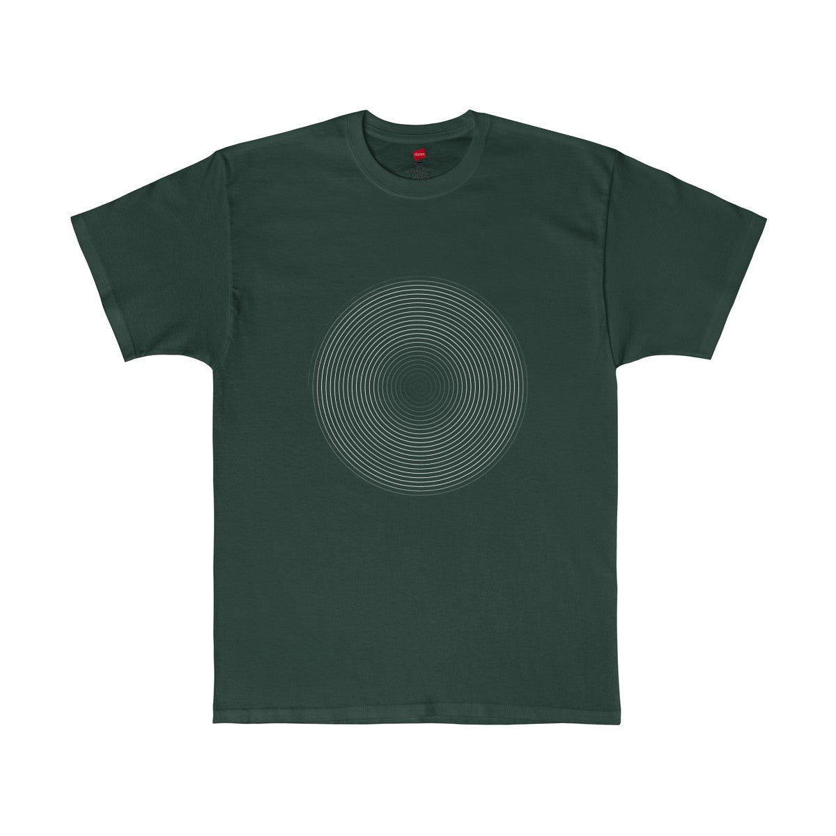 White Spiral 2 Tagless T-Shirt