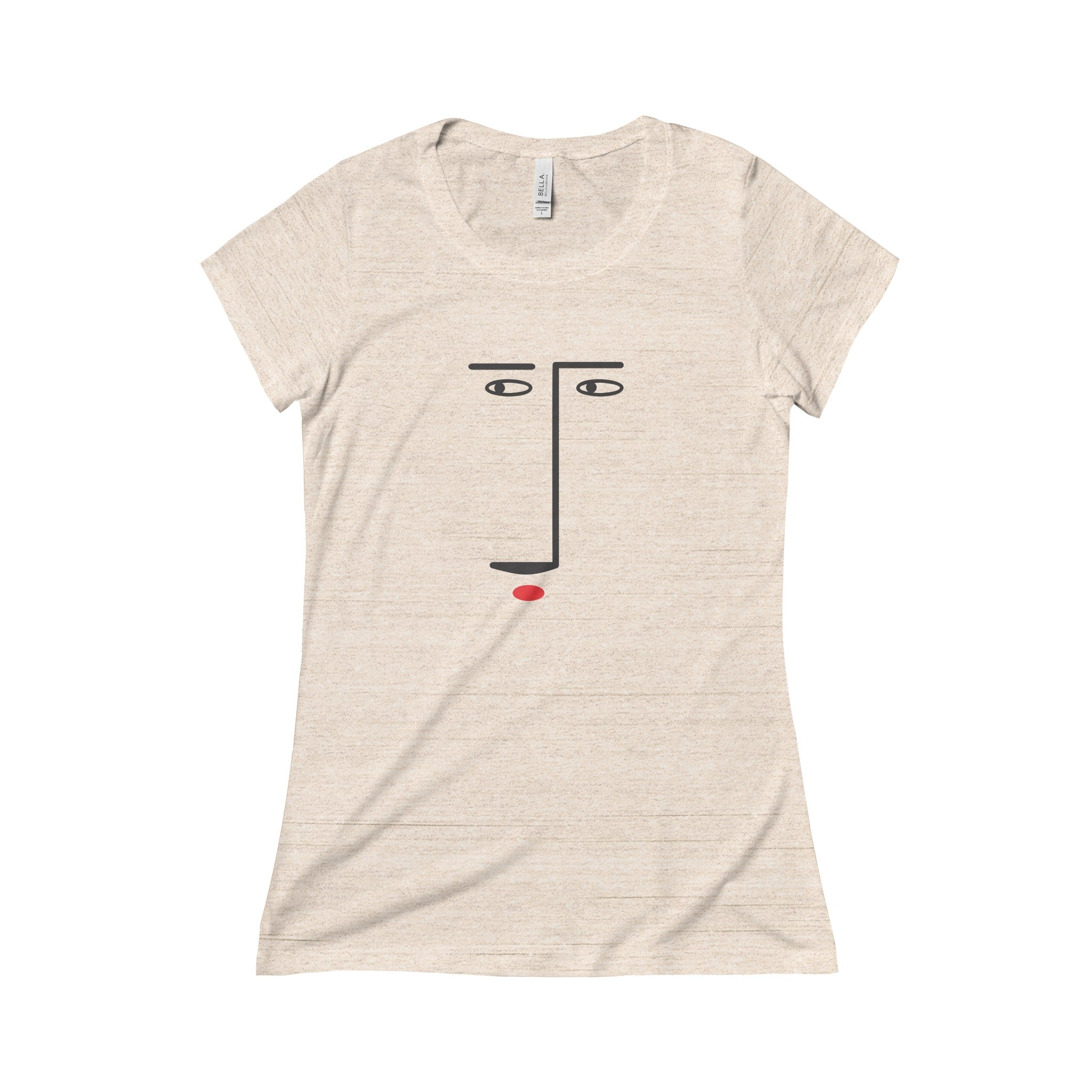 Face Lines Short Sleeve Tee