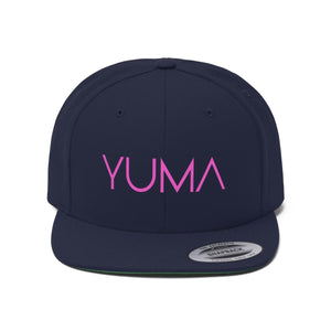 Yuma PINK Flat Bill Hat