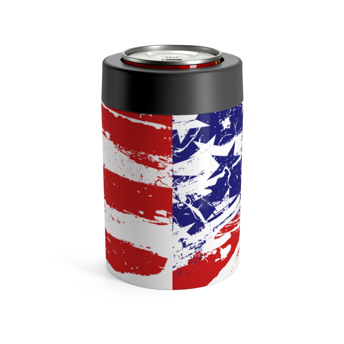 American Flag Can Holder 12oz