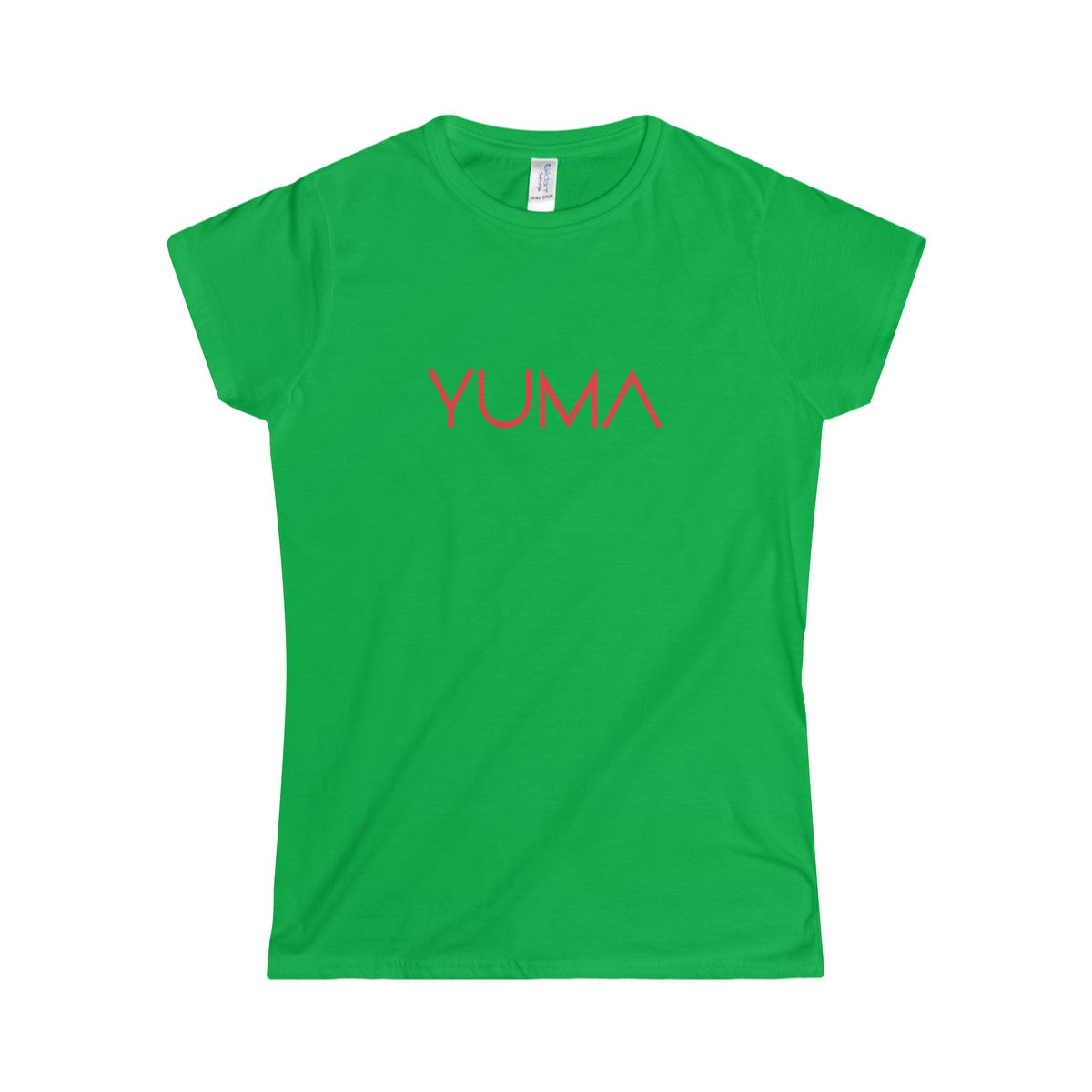 YUMA Red Softstyle Tee