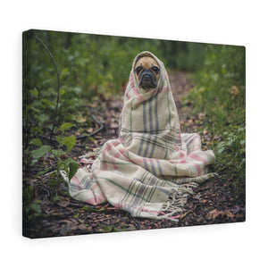Dog in the Forest Canvas
