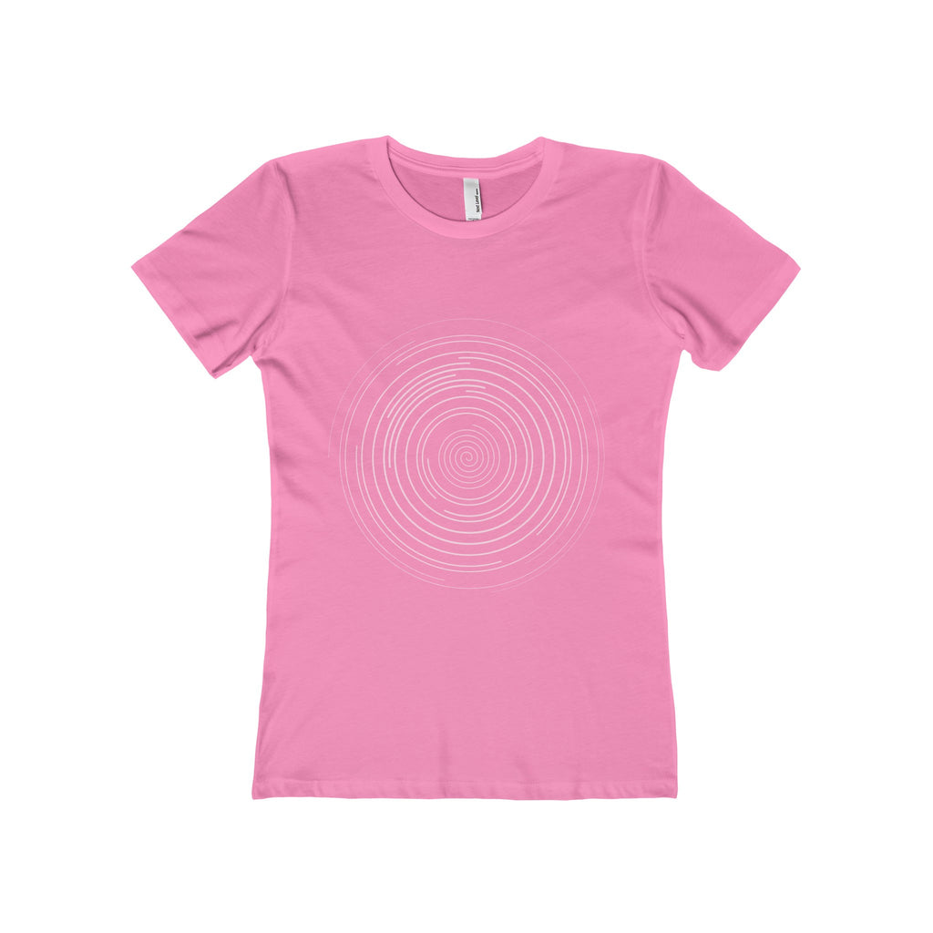 White Spiral Women's The Boyfriend Tee