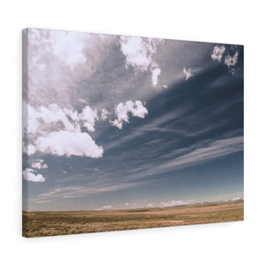 Field Sky Canvas