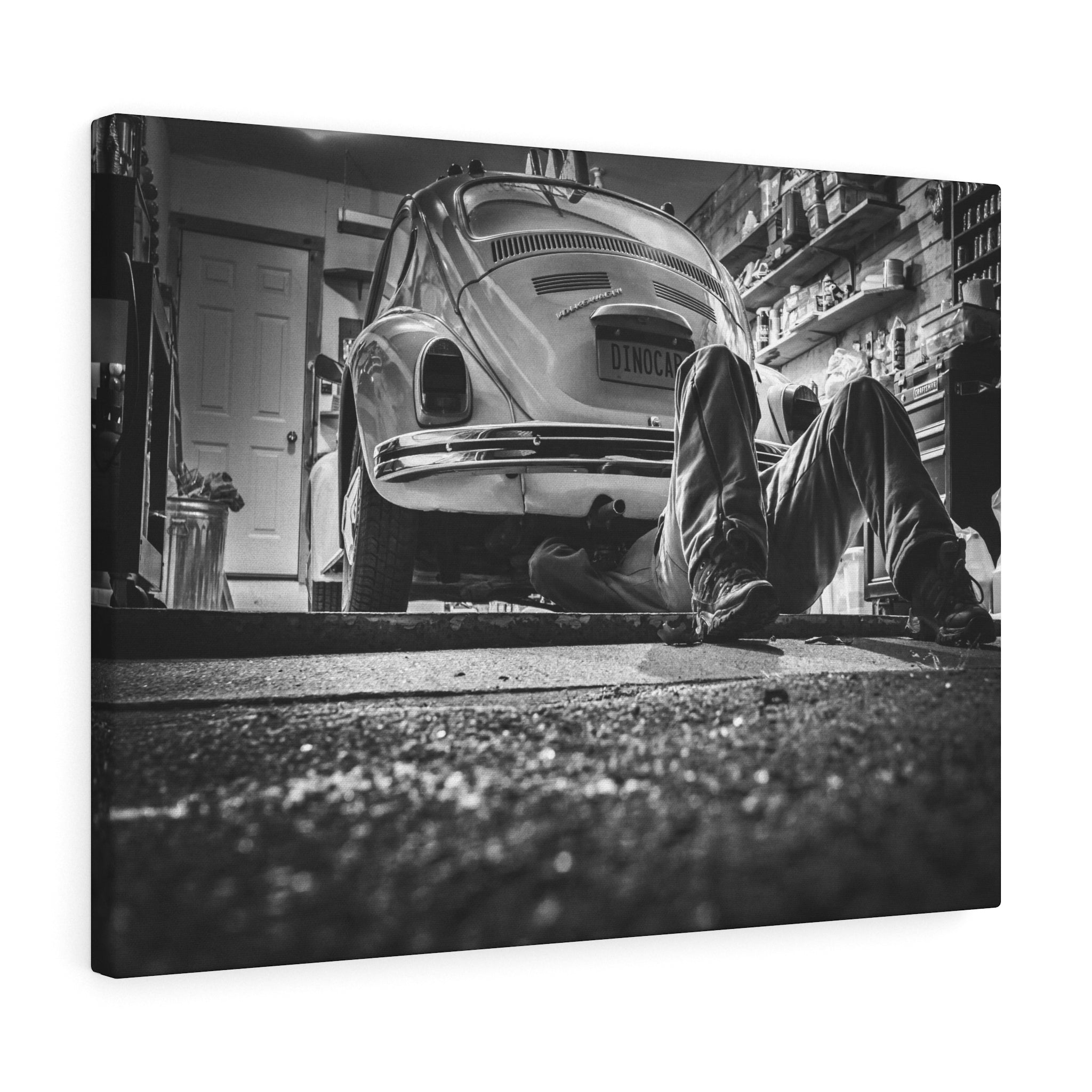 Dreams Garage Canvas