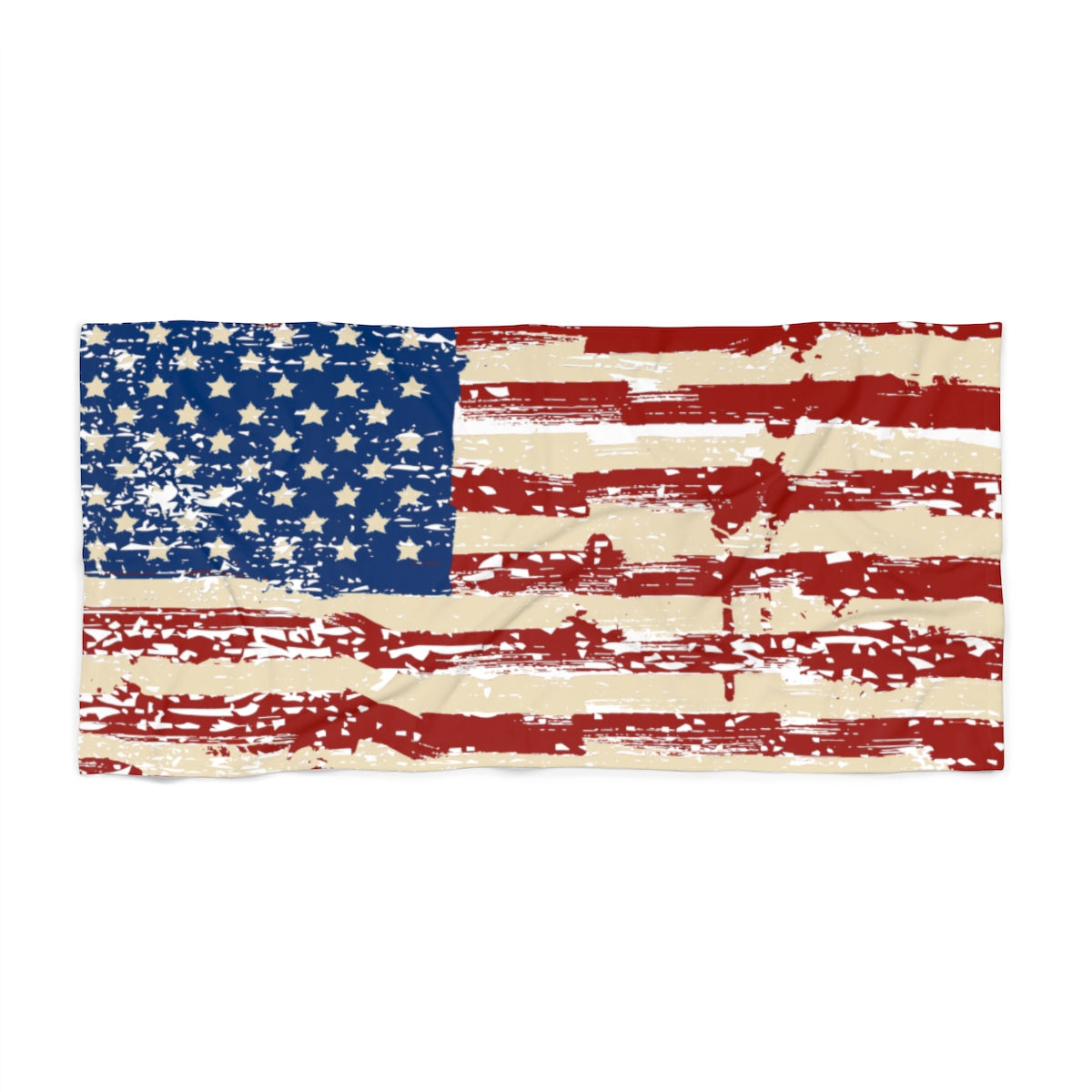 American Flag 2 Beach Towel