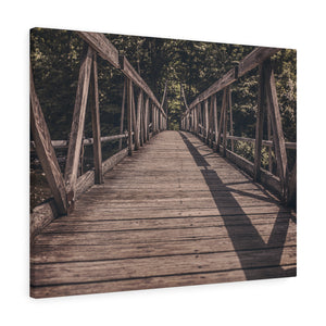 Wood Bridge Canvas