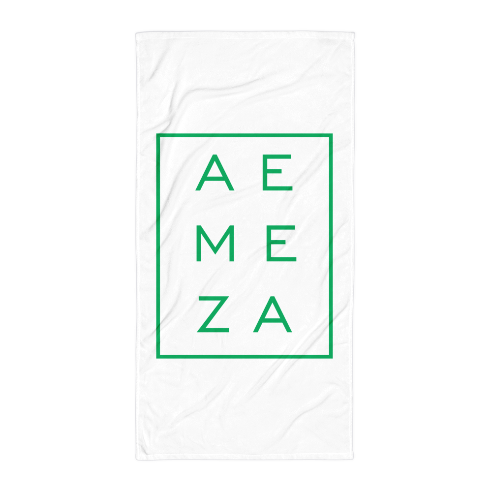 A.E. Meza GREEN Beach Towel Blanket