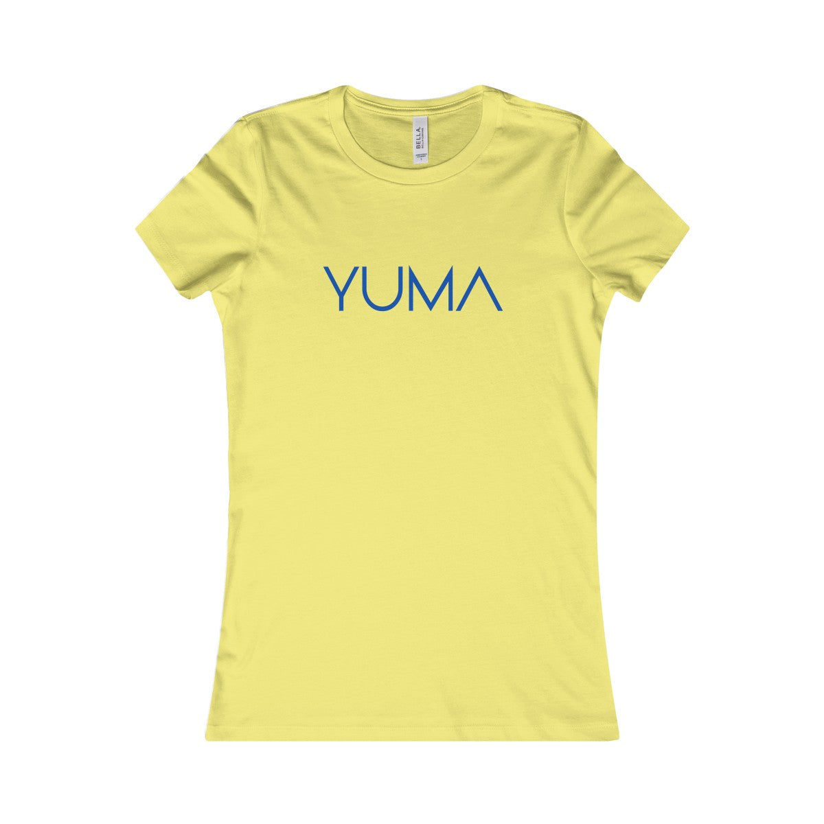 YUMA Blue Women's Favorite Tee