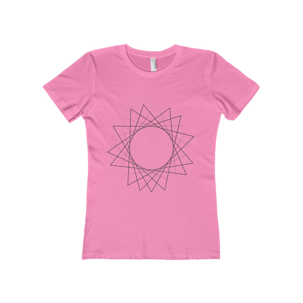 Golden Spiral Women's The Boyfriend Tee