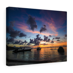 Beach Sunset Thailand Canvas