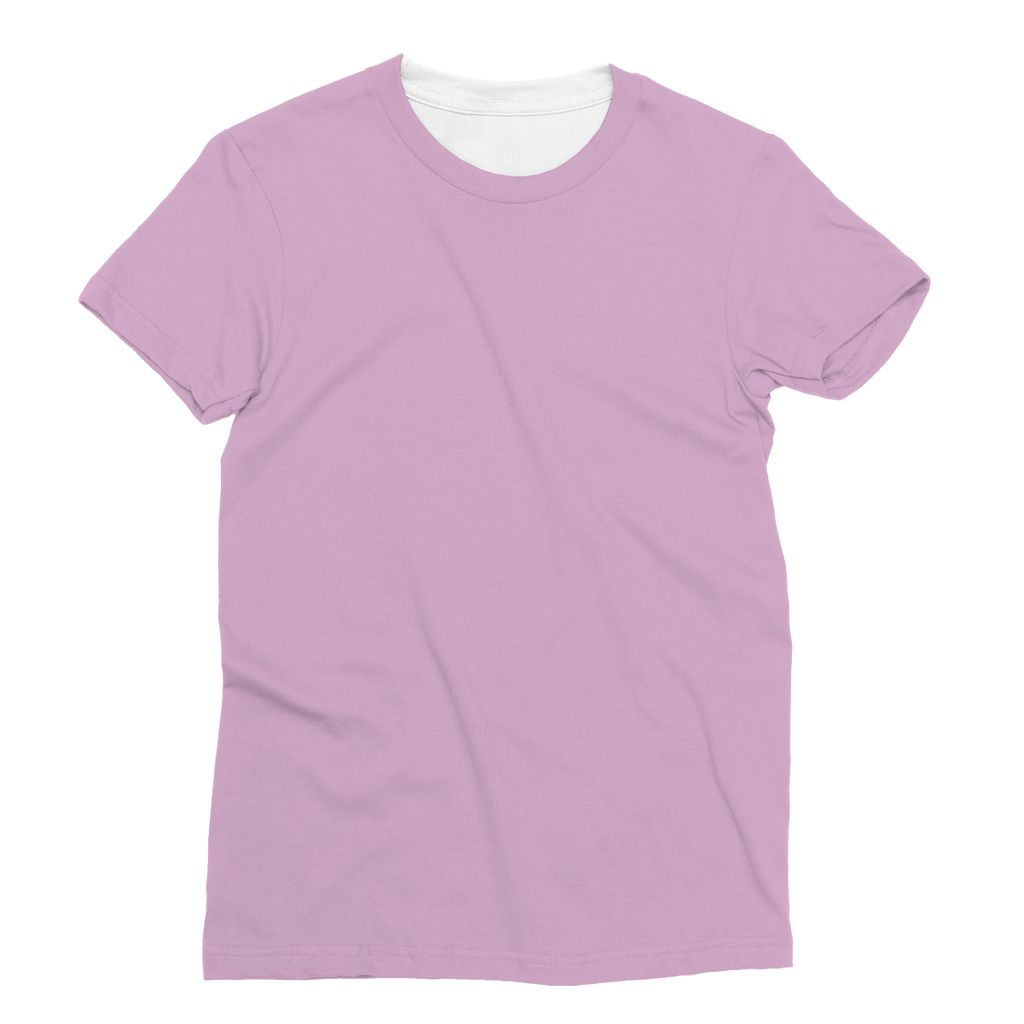 Violet Rose Sublimation T-Shirt