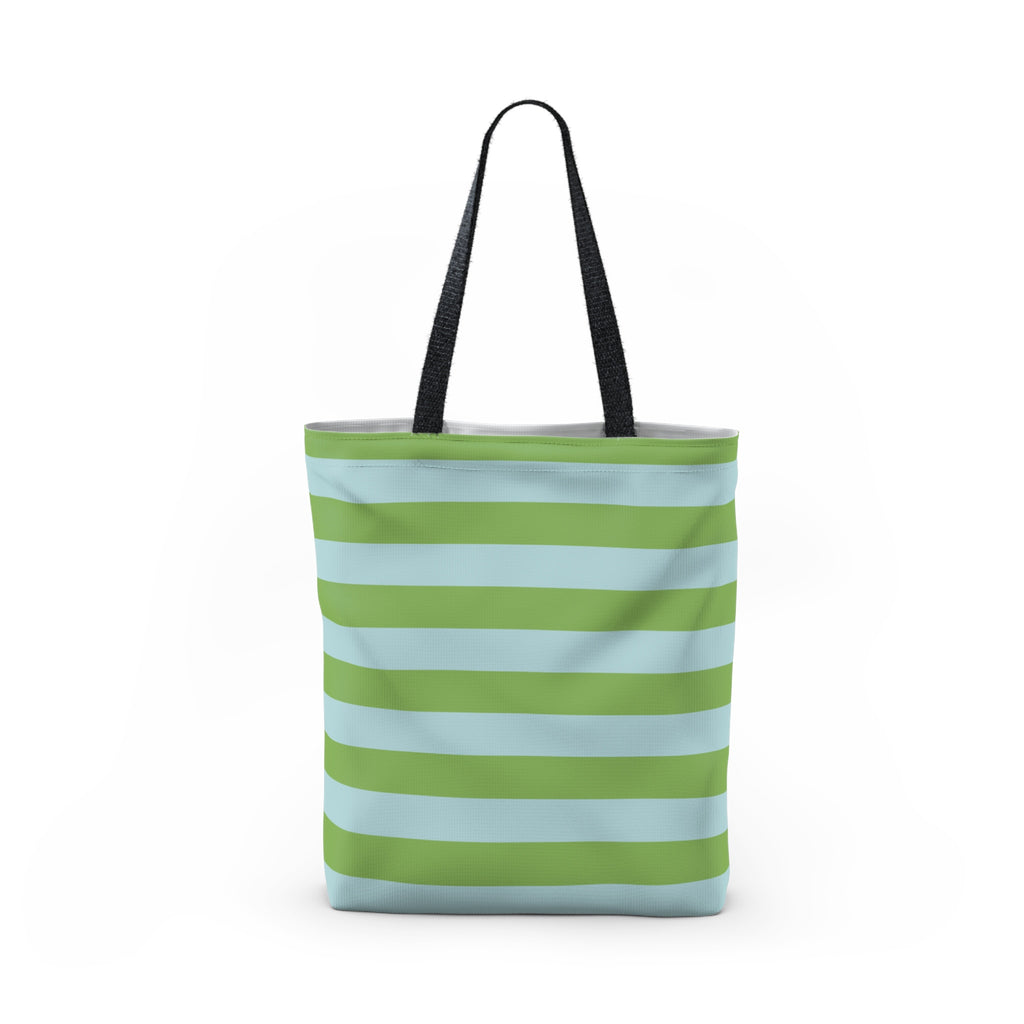 Green and Blue Tote Bag
