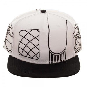 Pilot Helmet DIY Color Embroidered Snapback