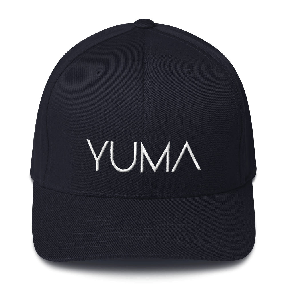 Yuma FlexiFit Structured Twill Cap