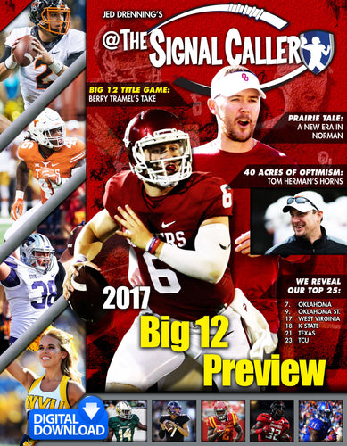 2017 BIG 12 PREVIEW MAGAZINE - DIGITAL DOWNLOAD - 96 FULL COLOR PAGES