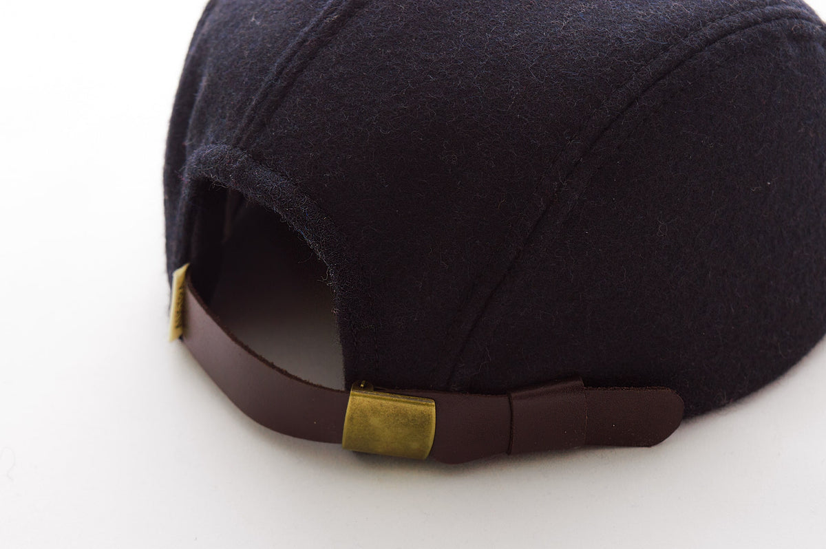 Brass buckle for 5 panel hat
