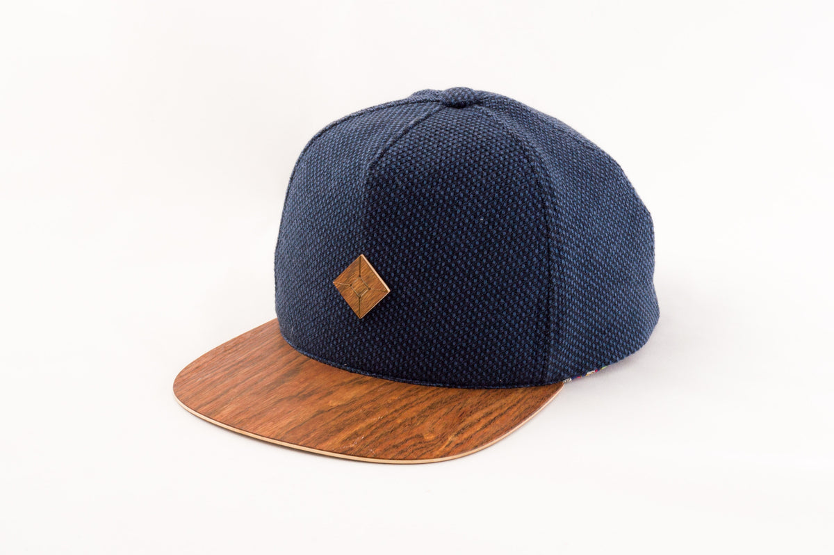 wooden snapback hats by AUSTRA