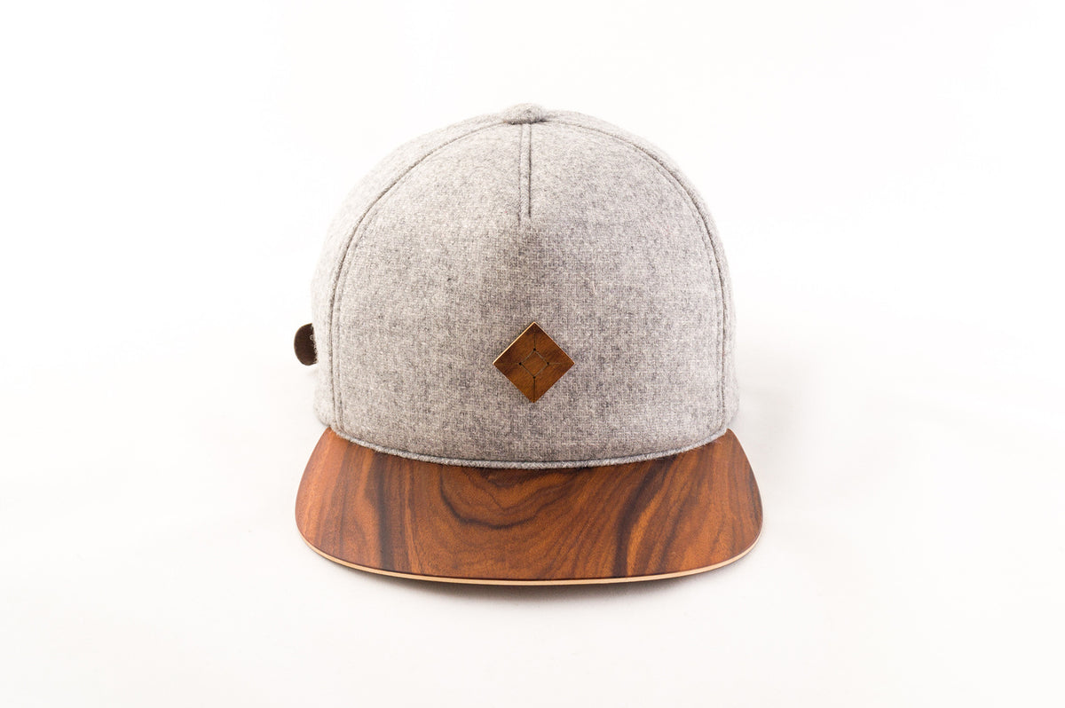 wood brimmed hat | AUSTRA