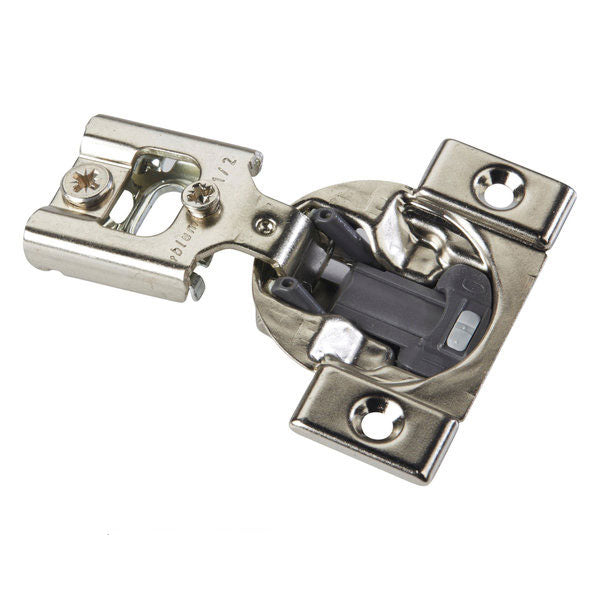 "Blum COMPACT BLUMOTION Soft Close 1/2"" Overlay Screw-on Hinge - 38N355B.08"