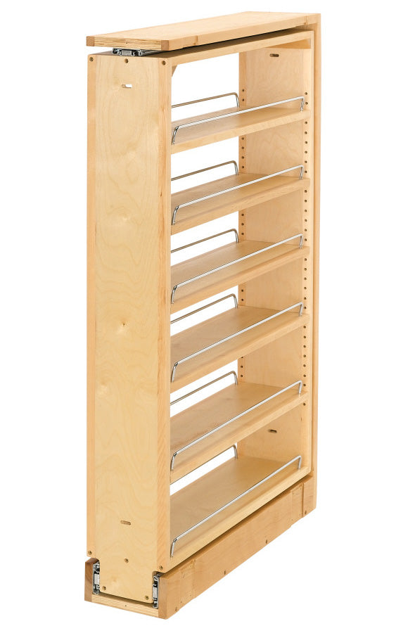 "Rev-A-Shelf 432 Series Wood Tall Filler Pullout - 39"" - 432-TF39-6C"