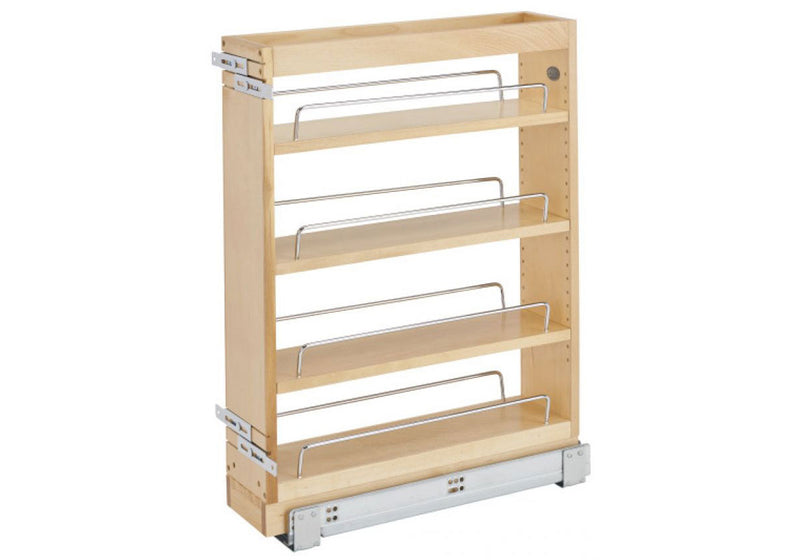 "Rev-A-Shelf 448 Series Soft-Close Base Cabinet Pullout - 6"" - 448-BC19SC-5C"