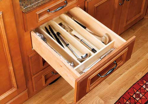 Rev-A-Shelf 4WUT Series Trimmable Wood Utility Tray Insert - 4WUT-3