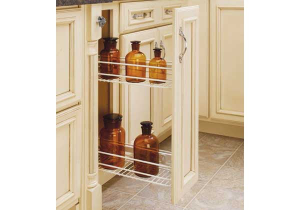 Rev-A-Shelf 548 Series Pullout Organizer - White - 548-06