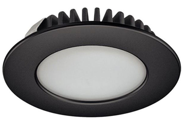 Hafele Loox LED 2020 12V 2.7W - 4000K Cool White - Black - 833.72.024