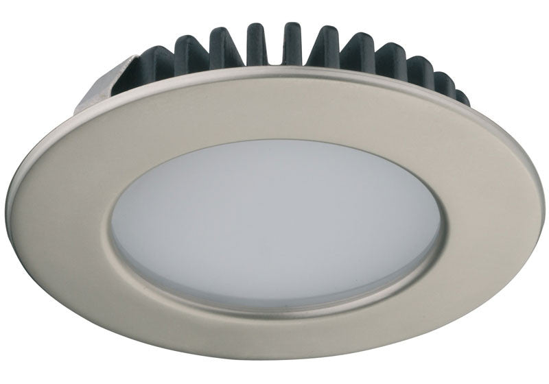 Hafele Loox LED 2020 12V 2.7W - 3000K Warm White - Nickel - 833.72.020