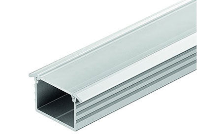Hafele Loox Profile for Recess Mounting - Frosted Cover - 833.72.867