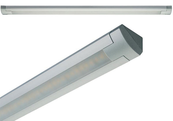 "Hafele Loox LED 3019 High Intensity Surface Mounted Under Cabinet Light - 24V - Cool White (4000K) - 32"" - 833.76.091"