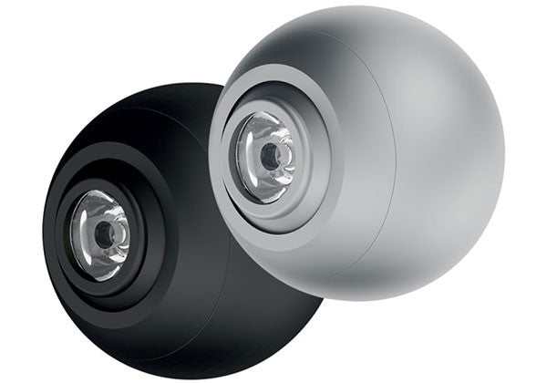 Hafele Loox LED 4015 Surface Mounted Swivel Eyeball Spotlight - 350mA - Cool White (4000K) - Black - 833.79.072