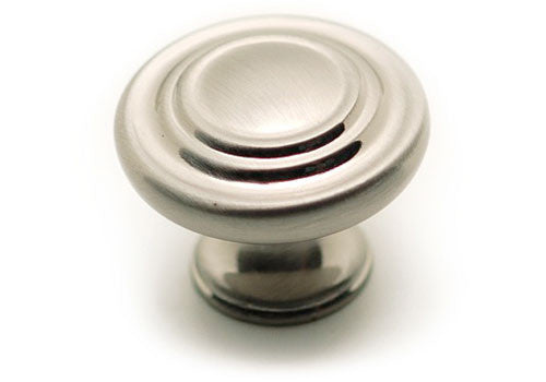 "Knob - 1-11/32"" Diameter - Brushed Nickel - BP10734195"