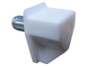 5mm Shelf Pin - White Plastic - 100