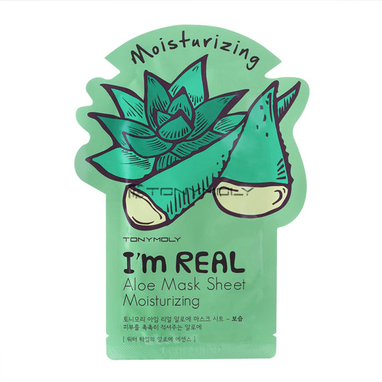 Tony Moly I`m Real Aloe Mask Sheet - Idratante
