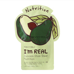 Tony Moly I`m Real Avocado Mask Sheet - Nutriente