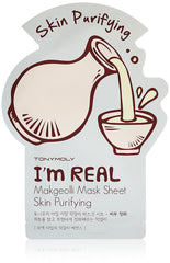 Tony Moly I`m Real Makgeolli Mask Sheet - Purificante
