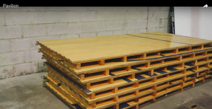 Bleacher & Court Wood for Sale
