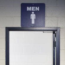 """Men's"" Stadium Sign"