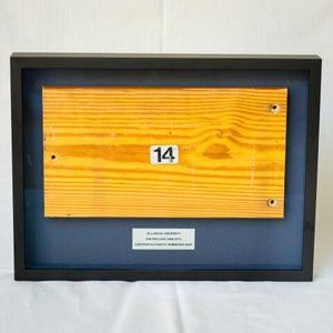 Shadow Box with Bleacher Bench Seat