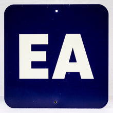 "Navy Section ""EA"" Stadium Sign"