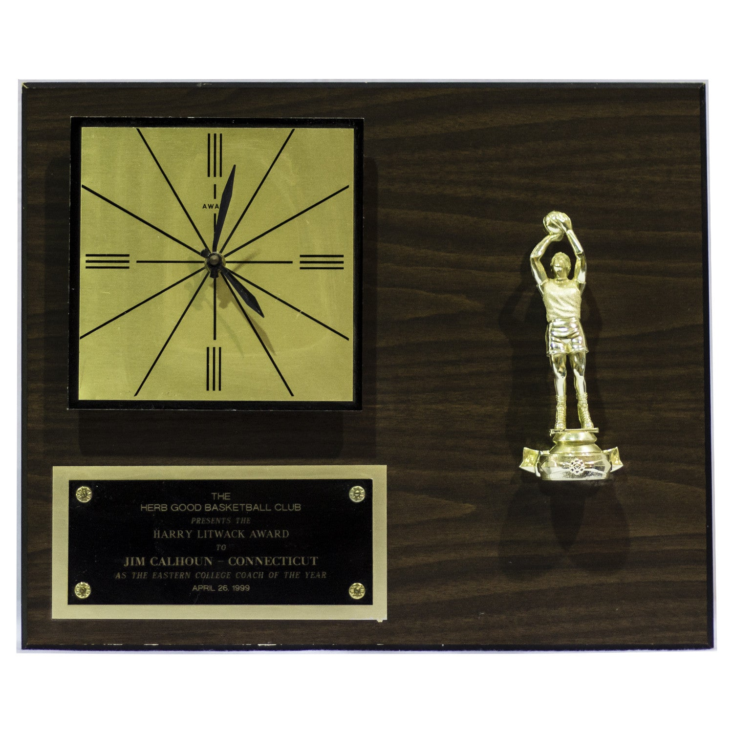 1999 Harry Litwack award