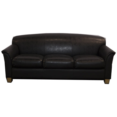 Black Couch from The Pavilion Men's Basketball Locker Room